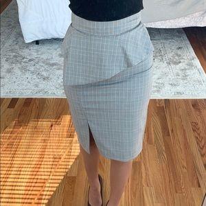 ZARA Pencil skirt with slit